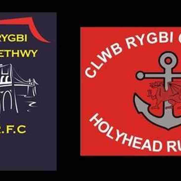 Menai Bridge 12 v Holyhead 26 - match report