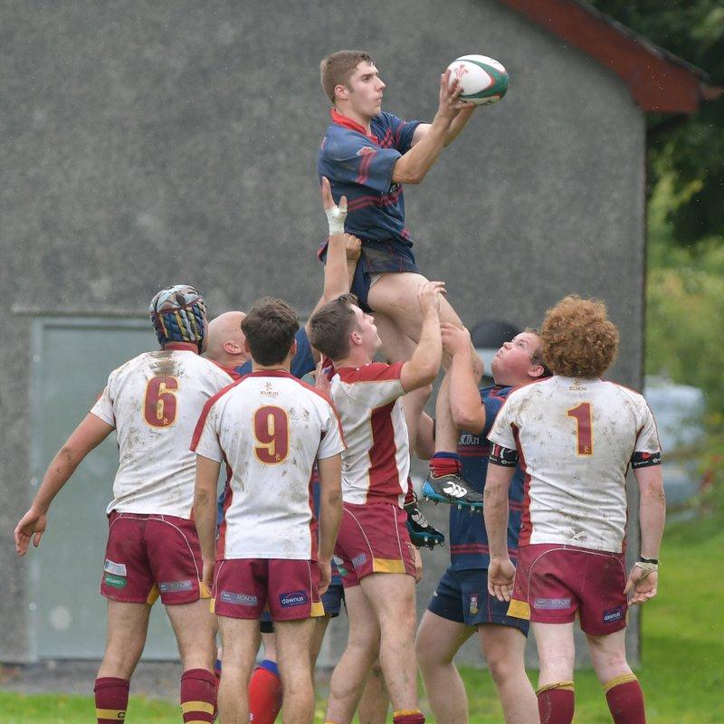 Bala 2nds v Caernarfon 2nds by Trevor Edwards