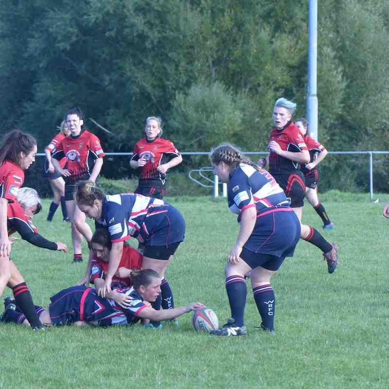 Welshpool Ladies v Holyhead Ladies by Gary Williams