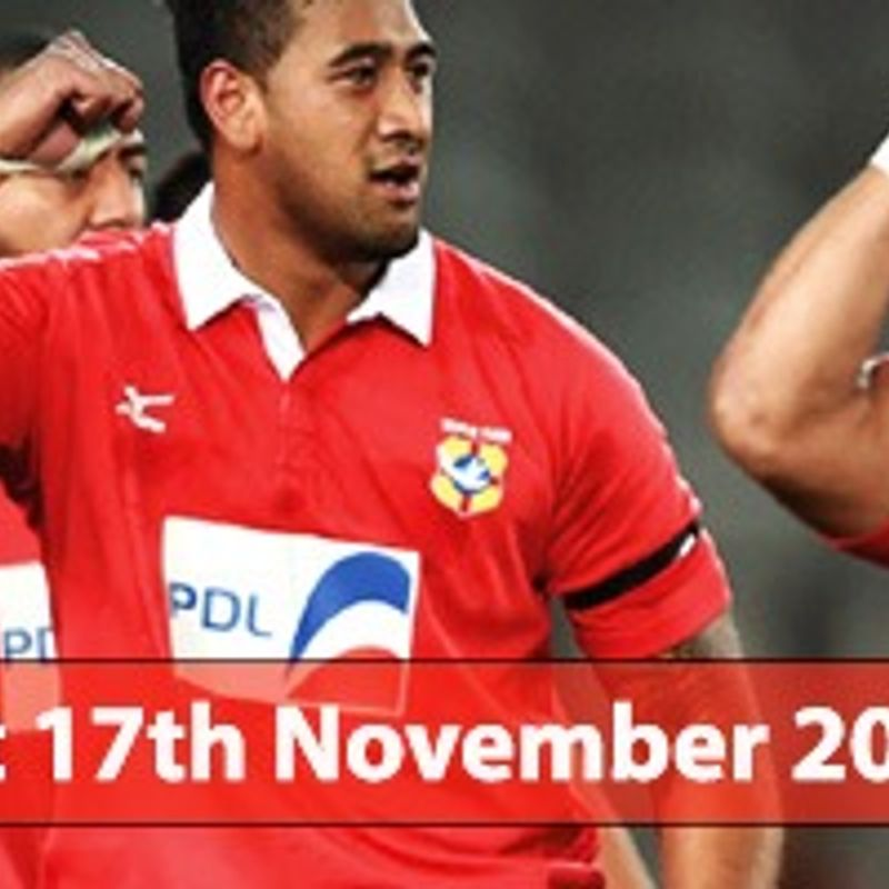 Wales run helps Tonga fly