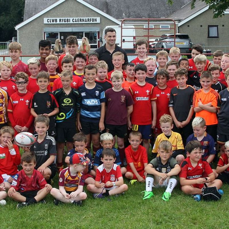 Off the pitch and throughout the town - Caernarfon RFC