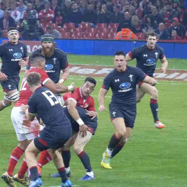 Wales v Tonga - match report
