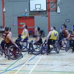 North Wales Knights v Sheffield Steelers Wheelchair Basketball