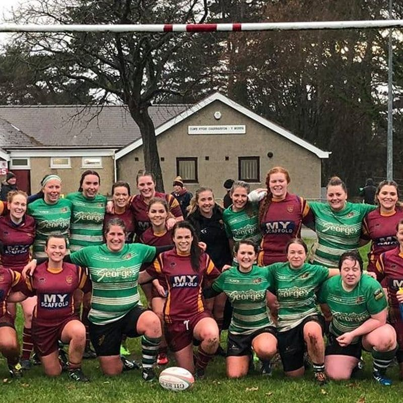 Caernarfon Ladies 81 v Whitland Ladies 0 - match report