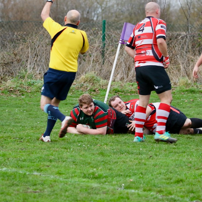 Spencer Disgrace - Wrexham 2nds 66 - Rhyl 7