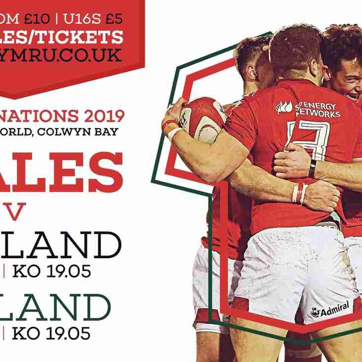 Wales announce U20 Six Nations squad