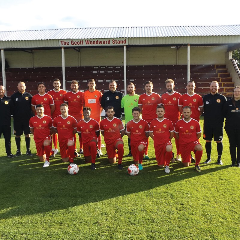 Walsall Wood FC lose to Ilkeston Town 3 - 2