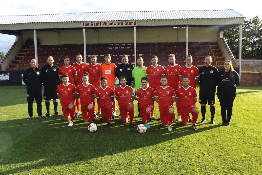 Walsall Wood FC beat Wolverhampton Sporting Community 3 - 0