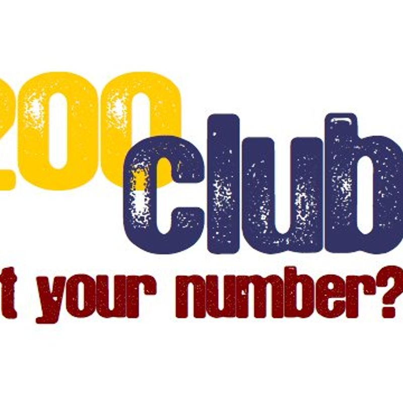 200 Club Winners for August