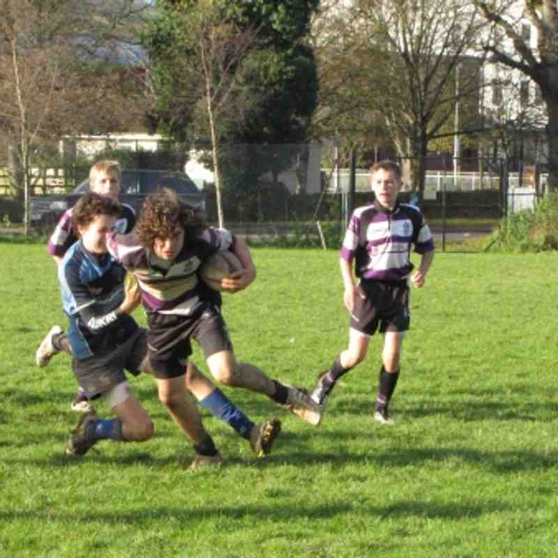 Tiverton Vs U15s,  27th Nov 2011