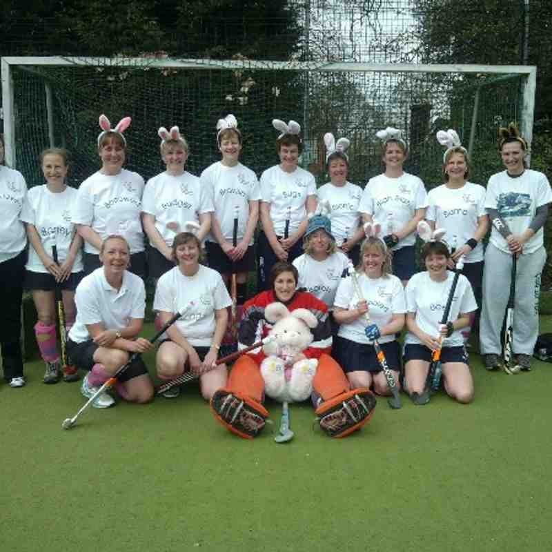 Bunnies on tour Sevenoaks 2013