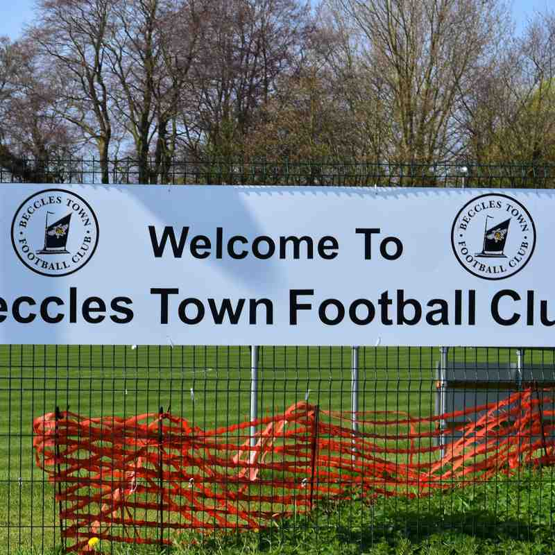 Beccles Town v First Team 21/04/18