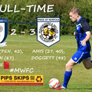 Amis off the mark as Wanderers secure first away win.