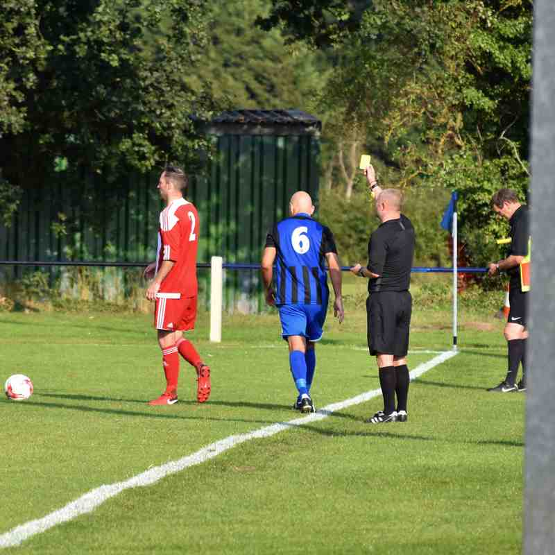 First Team v Felixstowe & Walton Utd Reserves 01/09/18