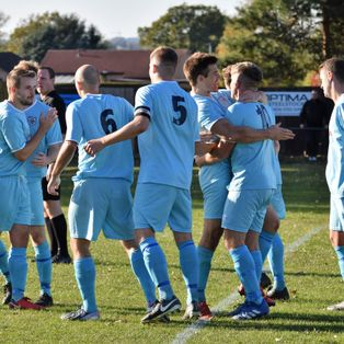 Wanderers win at Downham to complete perfect league month.