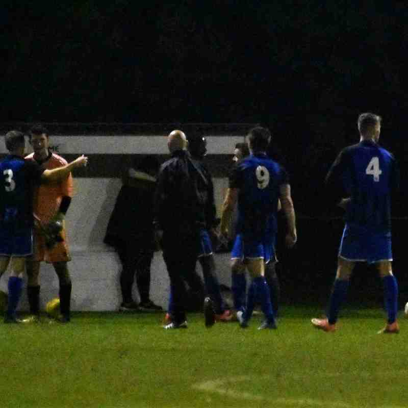 First Team v Ipswich Wanderers 10/11/18