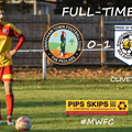 Oliver hammers in late winner at Swaffham.