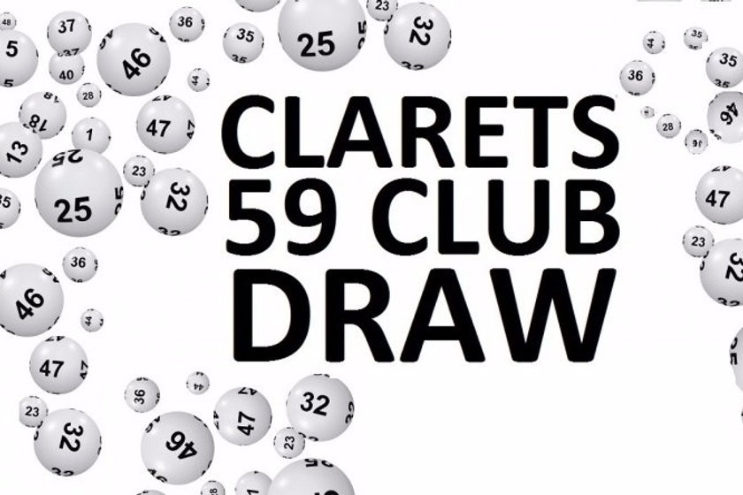 Clarets 59 Club Draw Winner - 13/07/2019