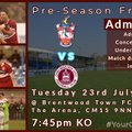 Brentwood Town FC vs. Chelmsford City FC
