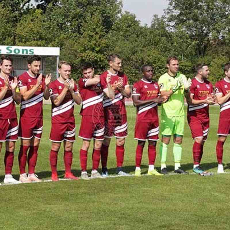 Chelmsford City 1-1 Welling United - National League South - 24/08/2019