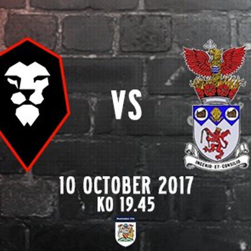 Salford City FC v IRLAM FC
