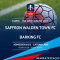 Bloods force an FA Cup Reply on Tuesday Night with Barking