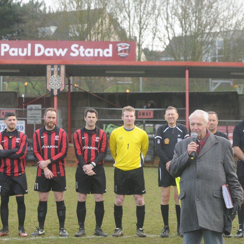 Paul Daw Dedication Match