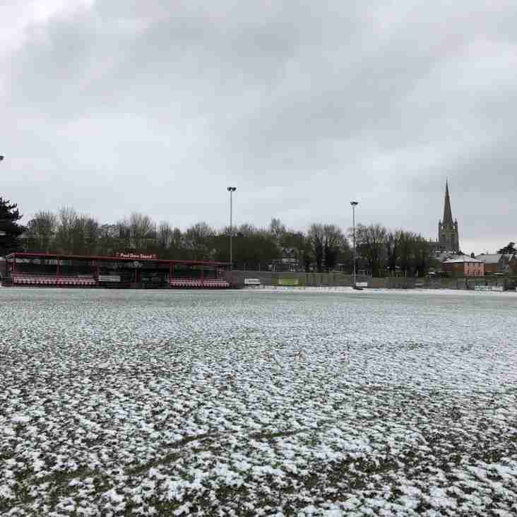 Match against Yarmouth is OFF