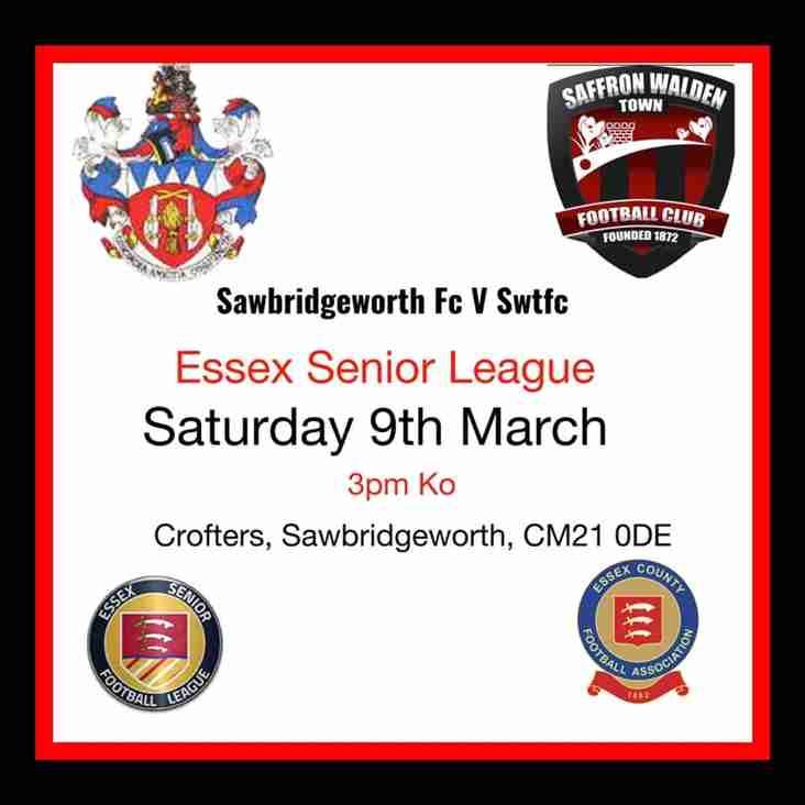 Sawbridgeworth Derby