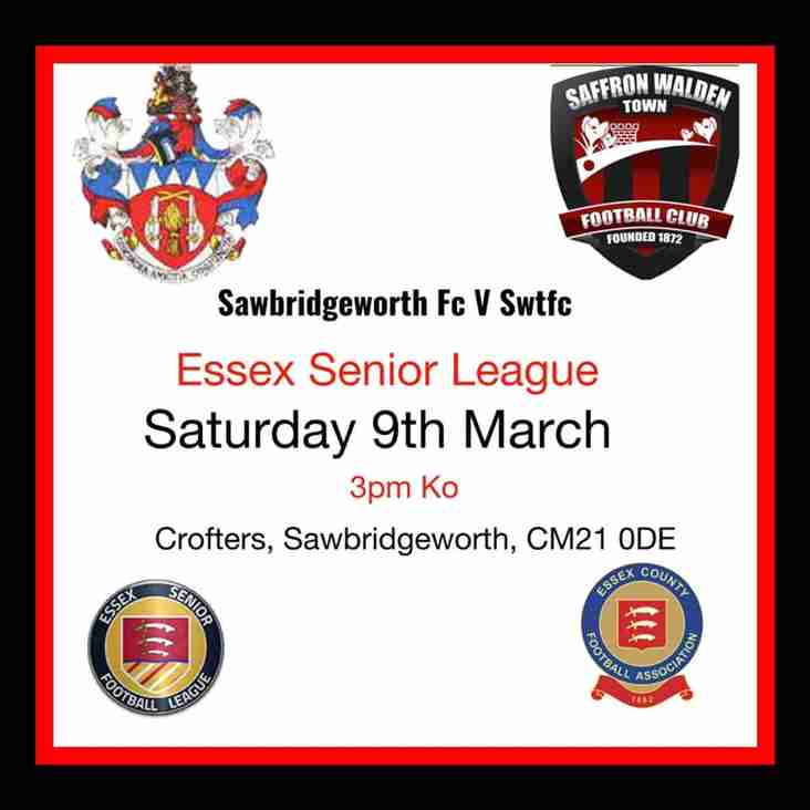 Sawbridgeworth Derby