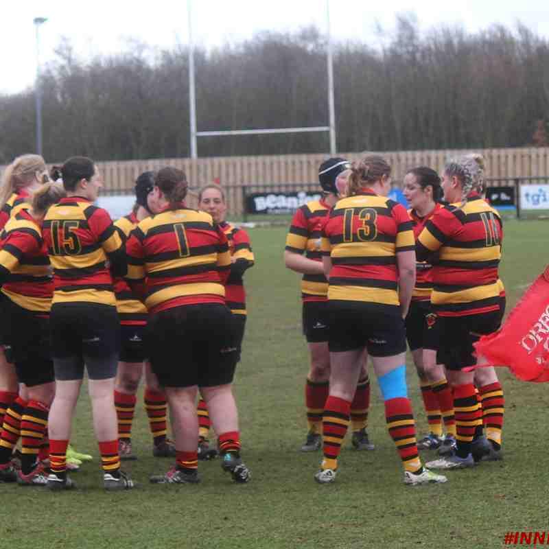 Darlington Ladies 20 - 27 Sunderland