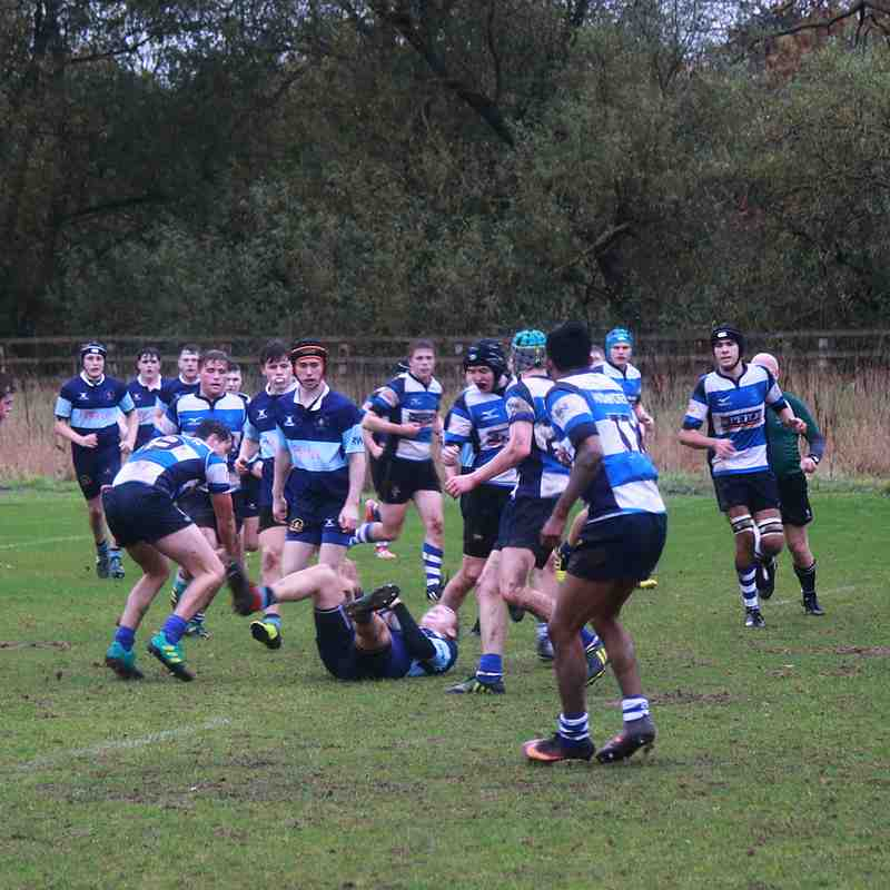 Darlington Mowden Park U17s 59 - 5 Bishop Auckland U18