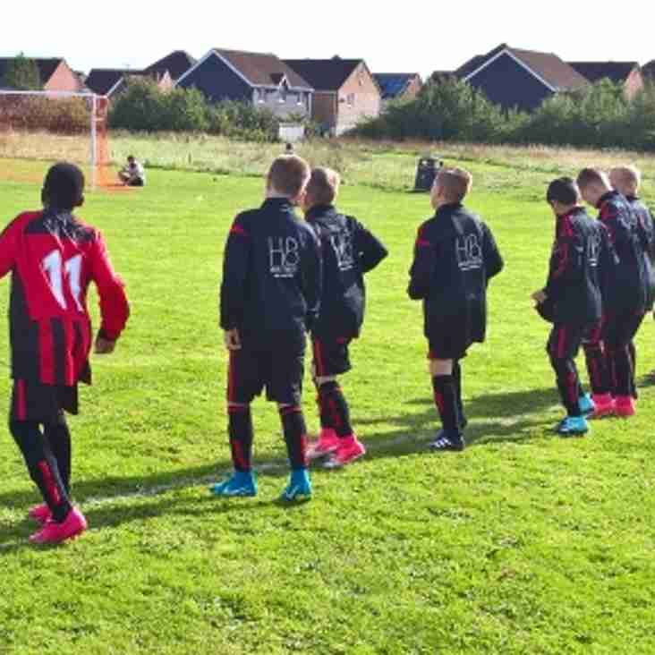 First game for Hatfield Comets U12´s