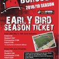 18/19 Season Ticket Information