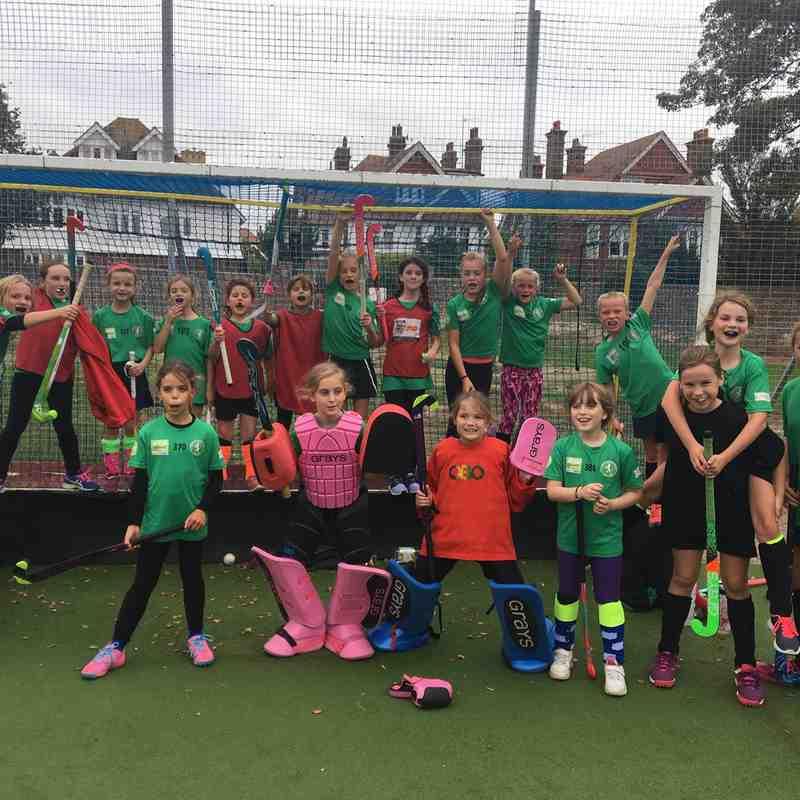 Eastbourne vs U10G Lynxes & Leopards 14 Oct 2018