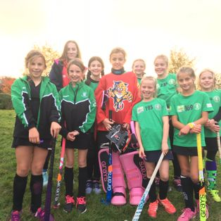 Team spirit and commitment from U10 Girls
