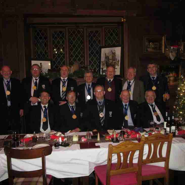Christmas surprise for Banbury Rugby Club's Presidents