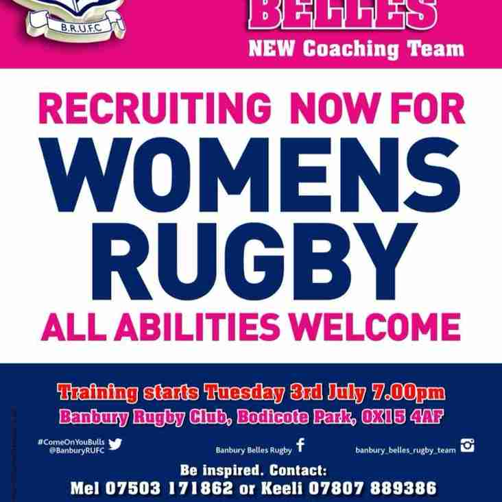 Play for the Banbury Belles