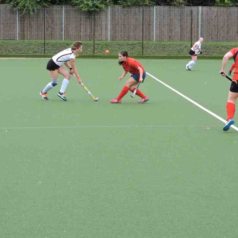 Ladies 2s v Wapping - 5th September 2015