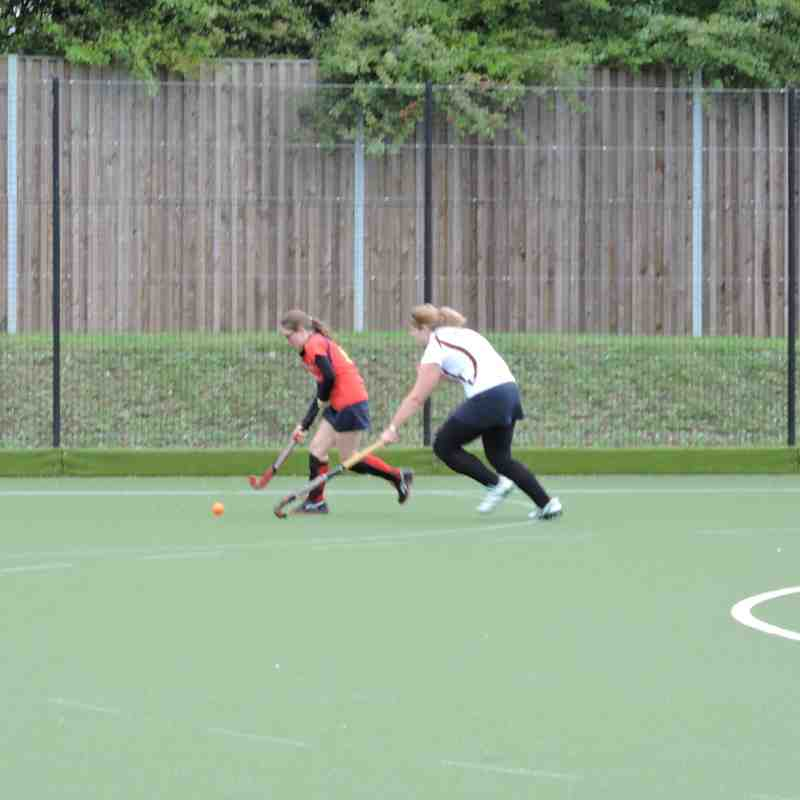 Ladies 4s v Wapping - 5th September 2015