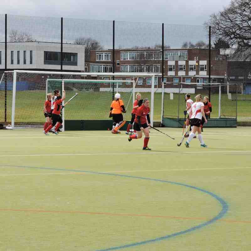 Ladies 1s v Havering