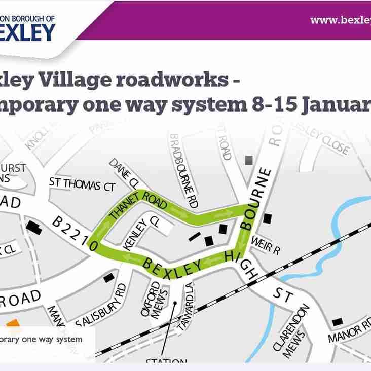 Bexley Village Roadworks