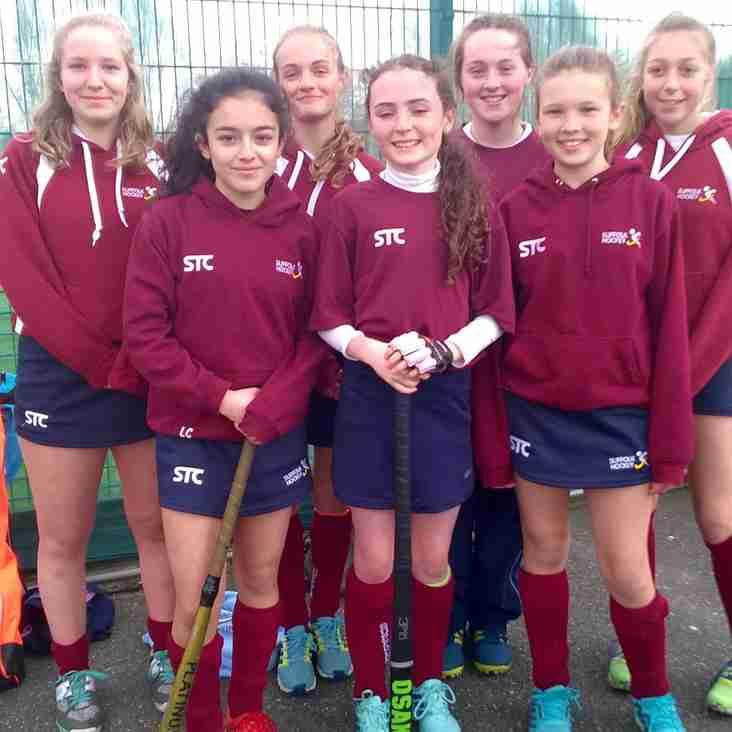 Club well represented at Suffolk U14 Girls JAC