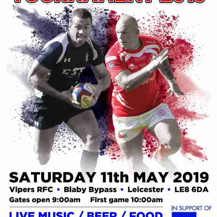 Charity Rugby 10s Tournament 2019 - Saturday 11th May 2019