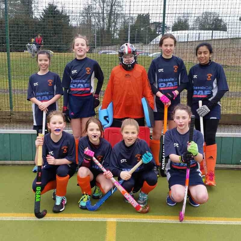 U12 Girls Suffolk In2Hockey