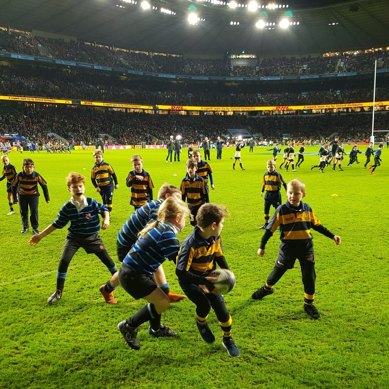 Under 9's Play on Hallowed Twickenham Turf