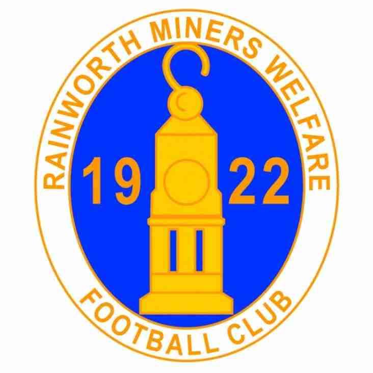 MATCH PREVIEW | Gedling Miners Welfare -v- Rainworth Miners Welfare