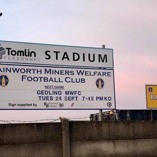 Rainworth MW 4 - 1 Gedling MW