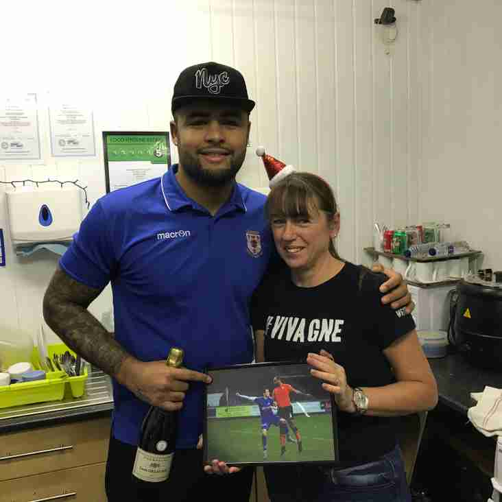 Supporters Club Player of the Month for November