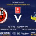 U18's FA Youth Cup Action